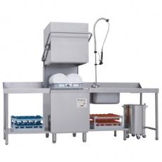 Zmywarka gastronomiczna do naczyń kapturowa z pompą odpływu QQ-100<br />model: 00010788<br />producent: Redfox