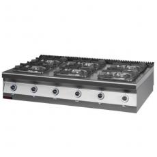 Kuchnia gazowa 6-palnikowa | KROMET 900.KG-6<br />model: 900.KG-6<br />producent: Kromet