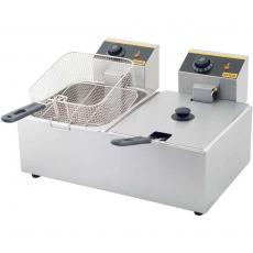 Frytownica elektryczna 2-komorowa<br />model: 746100<br />producent: Gredil