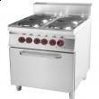 Kuchnia gastronomiczna elektryczna z piekarnikiem SPT 90/80 - 21 E