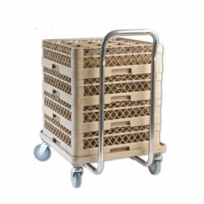 Wózek do transportu koszy do zmywarek<br />model: 810000<br />producent: Stalgast