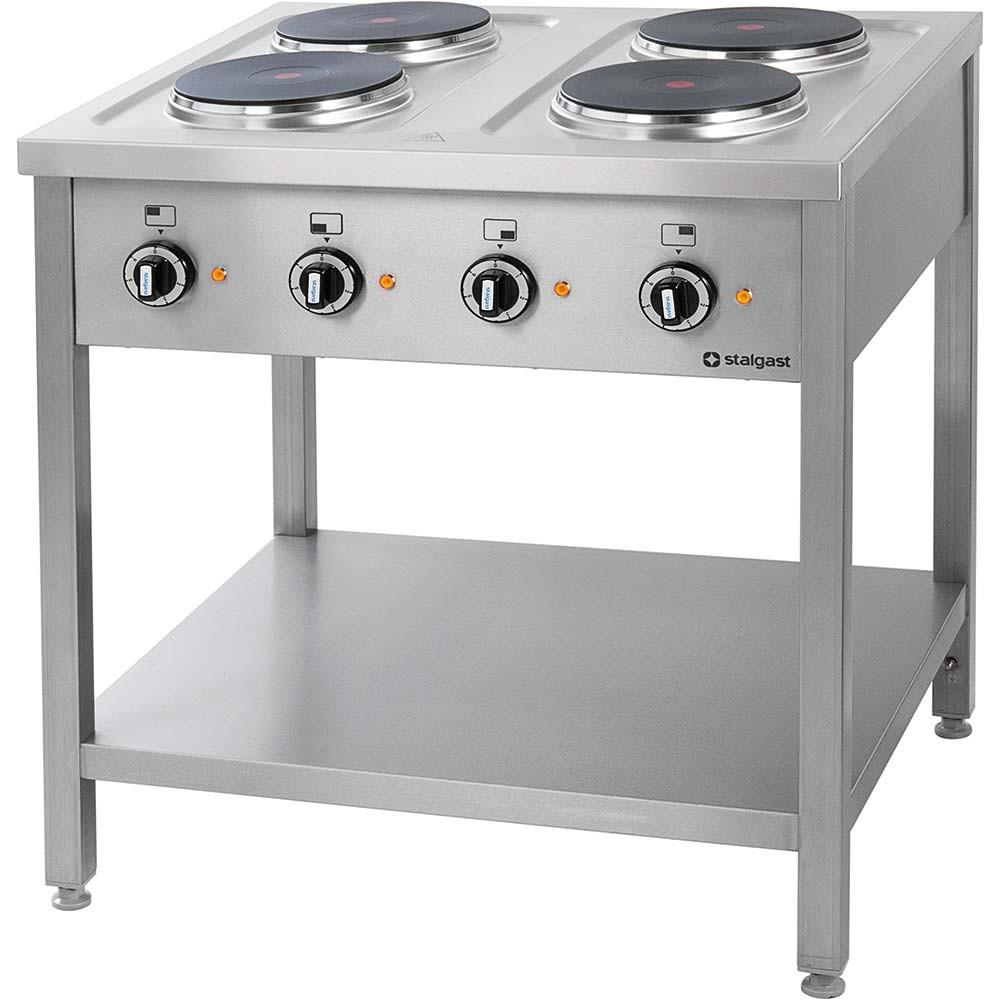 Kuchnia gastronomiczna elektryczna 4 płytowa 979500 # Kuchnia Gazowa Czy Elektryczna Koszty