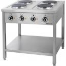 Kuchnia gastronomiczna elektryczna 4-płytowa 979500