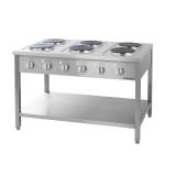 Kuchnia gastronomiczna elektryczna 6-płytowa - 979600