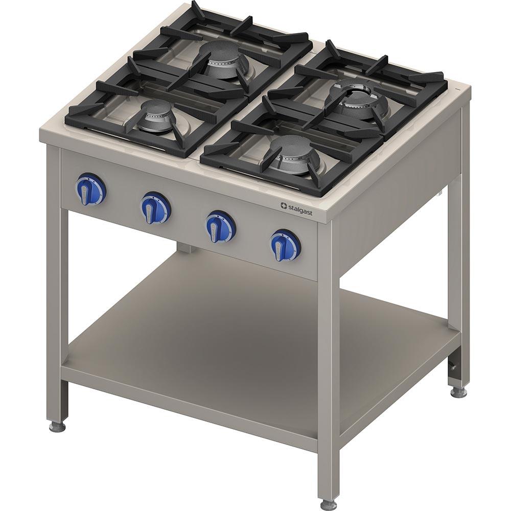 Kuchnia gastronomiczna gazowa 4 palnikowa 979531 -> Kuchnia Gazowa Moc