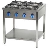 Kuchnia gastronomiczna gazowa 4-palnikowa 979533