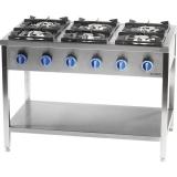 Kuchnia gastronomiczna gazowa 6-palnikowa 979623