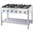Kuchnia gastronomiczna gazowa 6-palnikowa - 999621