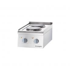 Kuchnia gastronomiczna elektryczna 2-płytowa<br />model: 9705000<br />producent: Stalgast
