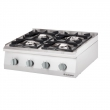 Kuchnia gastronomiczna gazowa 4-palnikowa 9706110
