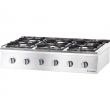 Kuchnia gastronomiczna gazowa 6-palnikowa - 9707130