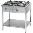 Kuchnia gastronomiczna gazowa 4-palnikowa / model - 979521