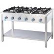 Kuchnia gastronomiczna gazowa 6-palnikowa / model - 979623