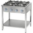 Kuchnia gastronomiczna gazowa 4-palnikowa / model - 999511