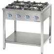 Kuchnia gastronomiczna gazowa 4-palnikowa / model - 999541