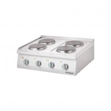 Kuchnia gastronomiczna elektryczna 4-płytowa<br />model: 9706000<br />producent: Stalgast