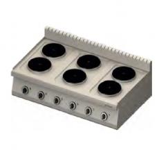 Kuchnia gastronomiczna elektryczna 6-płytowa<br />model: 970700<br />producent: Stalgast