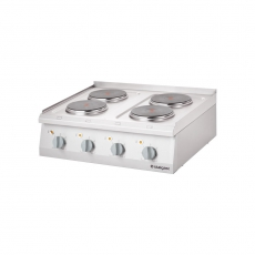 Kuchnia gastronomiczna elektryczna 6-płytowa<br />model: 9707000<br />producent: Stalgast