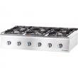 Kuchnia gastronomiczna gazowa 6-palnikowa / model - 9707210