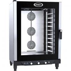 Piec konwekcyjno-parowy elektryczny cukierniczy BakerLux<br />model: 900893<br />producent: Unox
