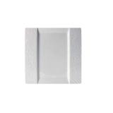 Talerz kwadratowy porcelanowy OPTIK C1044