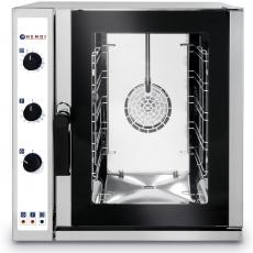Piec konwekcyjno-parowy elektryczny<br />model: 225530<br />producent: Hendi
