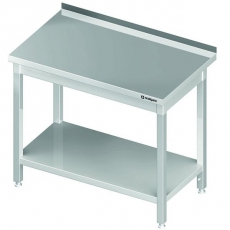 Stół roboczy nierdzewny z półką<br />model: 980047070S<br />producent: Stalgast