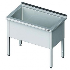 Basen nierdzewny 1-komorowy<br />model: 981336060<br />producent: Stalgast
