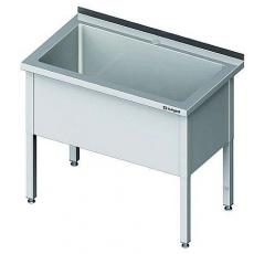 Basen nierdzewny 1-komorowy<br />model: 981346060<br />producent: Stalgast