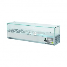 Nadstawa chłodnicza z szybą prostą<br />model: 844641<br />producent: Stalgast