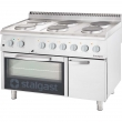 Kuchnia elektryczna 6-płytowa z piekarnikiem elektrycznym 9718000