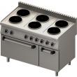 Kuchnia elektryczna 6-płytowa z piekarnikiem elektrycznym 971800