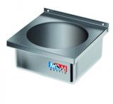 Umywalka ze stali nierdzewnej zabudowana E2620/400/400/200