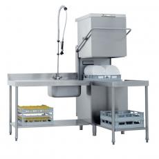 Zmywarka gastronomiczna do naczyń kapturowa z pompą odpływu TT-110 ABT<br />model: 00009804<br />producent: RM Gastro