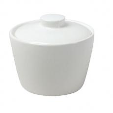 Cukiernica porcelanowa KUBIKO/FALA<br />model: 61230<br />producent: Ambition