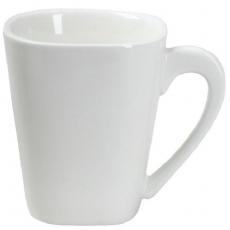 Filiżanka kwadratowa porcelanowaKUBIKO/FALA<br />model: 61231<br />producent: Ambition