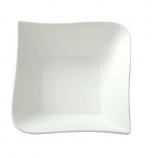 Salaterka porcelanowa FALA<br />model: 61219<br />producent: Ambition