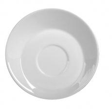 Spodek porcelanowy do filiżanki skośnej KUBIKO/FALA<br />model: 61234<br />producent: Ambition