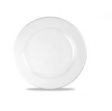 Talerz płytki niskoprofilowany porcelanowy PROFILE<br />model: 305434<br />producent: Churchill