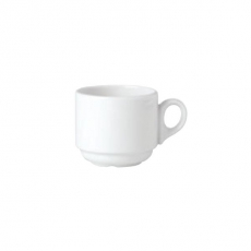 Filiżanka Atlanta porcelanowa SIMPLICITY<br />model: 11010157<br />producent: Steelite