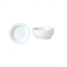 Naczynie porcelanowe na masło SIMPLICITY<br />model: 11010147<br />producent: Steelite
