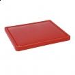 Deska z polietylenu czerwona HACCP GN 1/1 826010