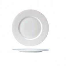 Talerz płytki porcelanowy z szerokim rantem OPTIK<br />model: 9118C1049<br />producent: Steelite