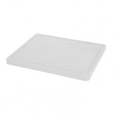 Deska z polietylenu biała HACCP GN 1/2<br />model: 826102<br />producent: Hendi