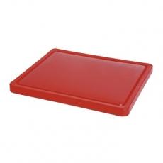 Deska z polietylenu czerwona HACCP GN 1/2<br />model: 826119<br />producent: Hendi