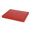 Deska z polietylenu czerwona HACCP GN 1/2 826119
