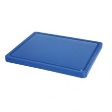 Deska z polietylenu niebieska HACCP GN 1/2<br />model: 826126<br />producent: Hendi