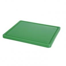 Deska z polietylenu zielona HACCP GN 1/2<br />model: 826133<br />producent: Hendi