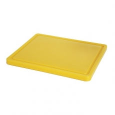 Deska z polietylenu żółty HACCP GN 1/2<br />model: 826157<br />producent: Hendi