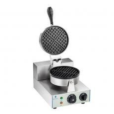 Gofrownica elektryczna okrągła RCWM-1300-R<br />model: 1317<br />producent: Royal Catering